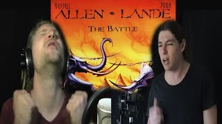 ALLEN LANDE - WHERE HAVE THE ANGELS GONE (Cover feat Michael Eastwood and Rob Lundgren)
