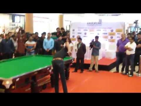 Pankaj Advani and Aditya Mehta at Inorbit mall - Hderabad1