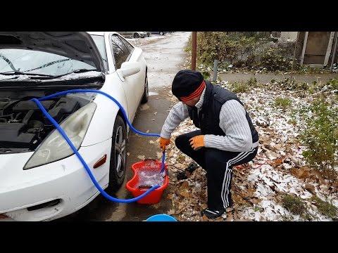 Холодный воздух в автомобиле из печки - чистим радиатор печки!!!