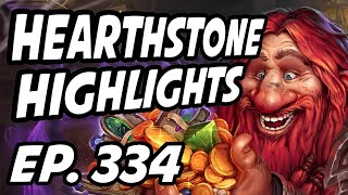 Hearthstone Daily Highlights | Ep. 334 | Alliestrasza, DisguisedToastHS, xChocoBars, GrinningGoat