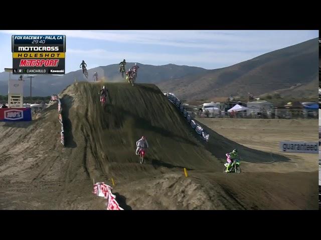 2020 Fox Raceway National - 450 Moto 2 Holeshot