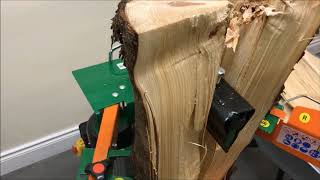 7 Ton VERTICAL Log Splitter Promo Video