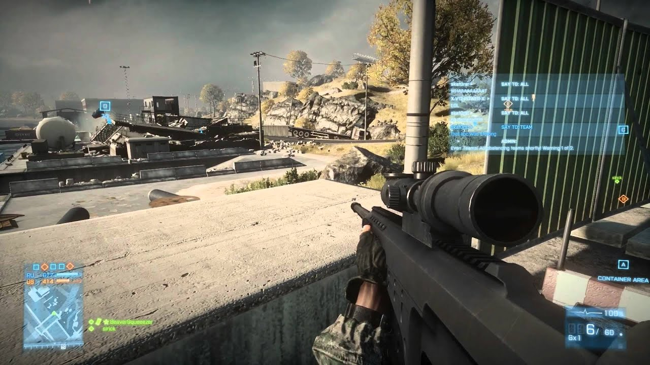 Battlefield 3 Multiplayer PC Sniping Sniper Gameplay - YouTube