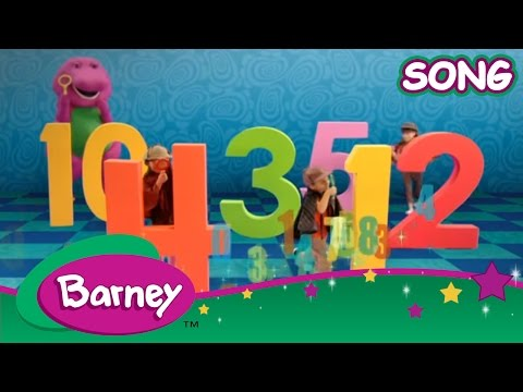 Barney - Find The Numbers Game (SONG)