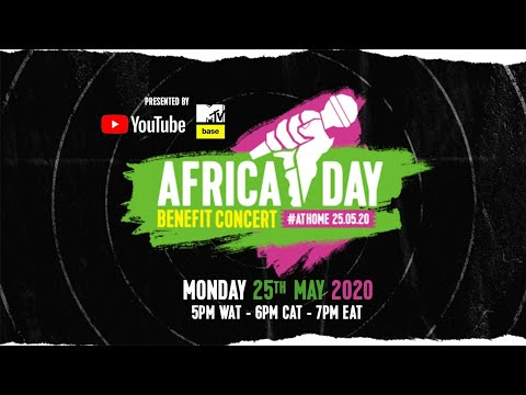 Africa Day Benefit Concert At Home Hosted by Idris Elba