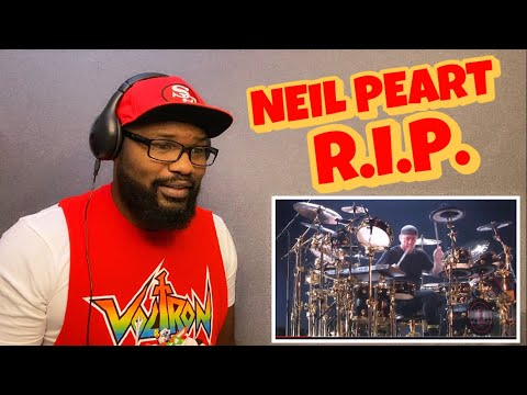 NEIL PEART DRUM SOLO - RUSH LIVE IN FRANKFURT  | REACTION
