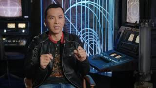 "Rogue One: A Star Wars Story: Donnie Yen ""Chirrut"" Behind the Scenes Movie interview 