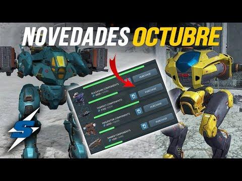 NOVEDADES War Robots Finales 2017   SORILOKO
