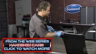 How To Prep A Car For Paint - Sand And Fill - With Kevin Tetz At Eastwood
