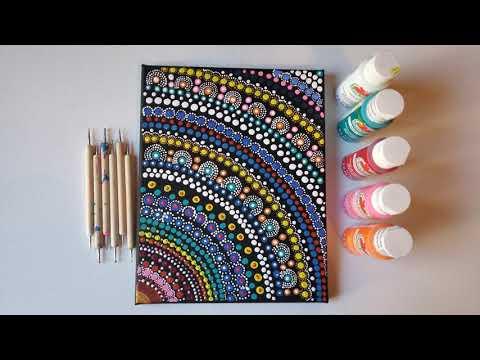 Abstract/Mandala – Dot Art Painting
