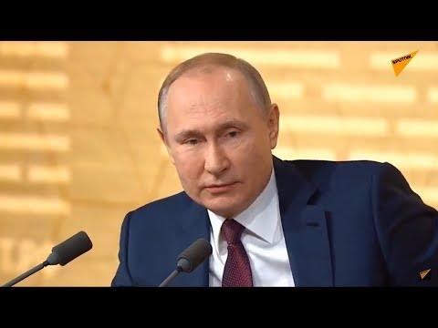Большая пресс-конференция Владимира Путина 19 декабря 2019 года