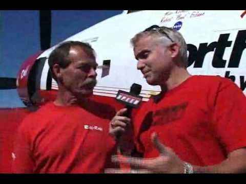Hoot Gibson on his Shuttle-Mir Russian practice fodder