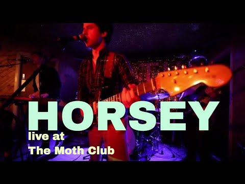 Horsey live at The Moth Club, Hackney.