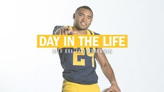 Cal Football: Day In the Life with Khalfani Muhammad