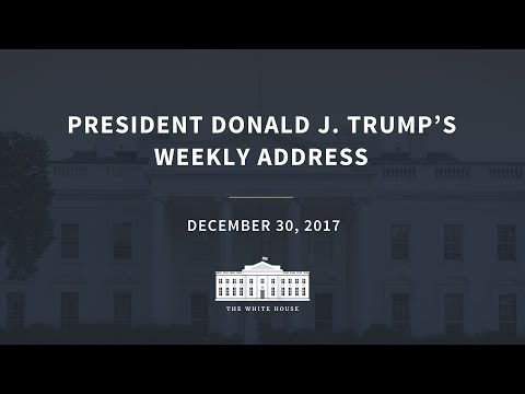 Weekly Address: 12/30/2017