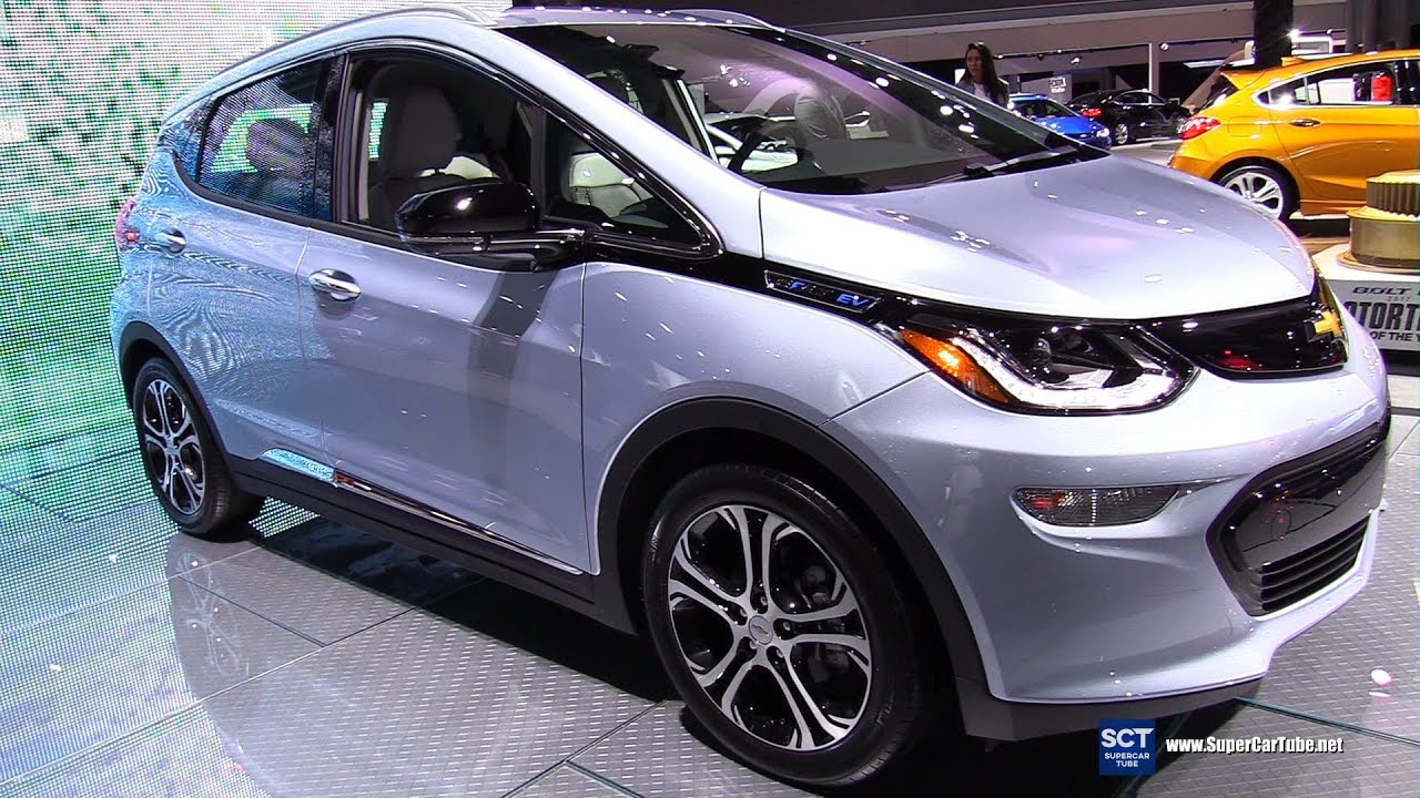 2018 Chevrolet Bolt EV - Exterior and Interior Walkaround ...