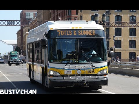 MBTA NEW FLYER XCELSIOR BUSES