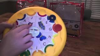 Learning Palette: Kindergarten Math & Reading Center Kits