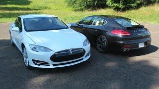 2014 Tesla And Porsche Panamera S E-Hybrid Review – Hybridcars.Com Review
