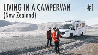 Living in A Campervan: New Zealand #1