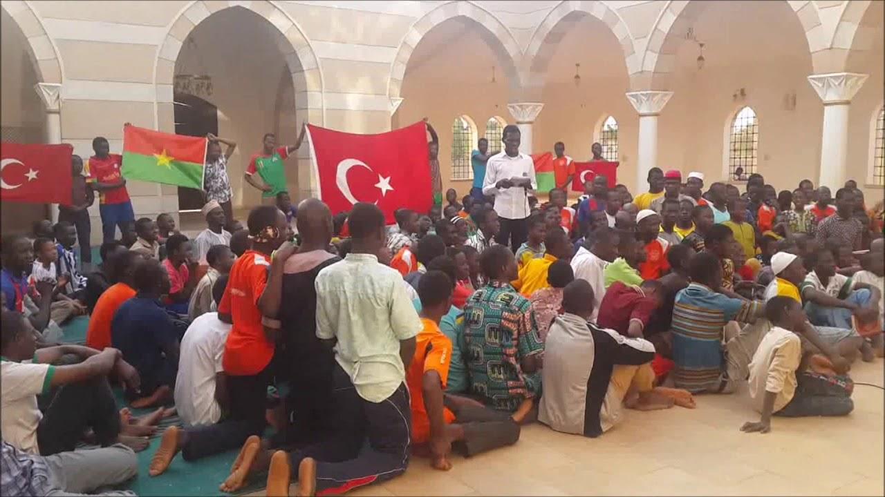 Burkina Faso - İstanbul Camii Afrin Operasyonu için Fetih Suresi