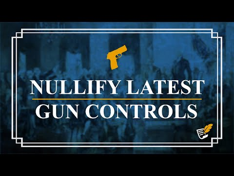 Nullify Latest Gun Controls | Constitution Corner