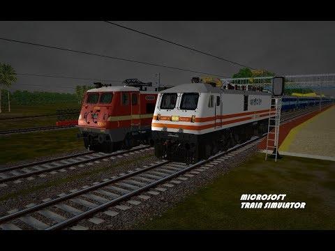 Rescue Of Patna-Ernakulum SF Express-Open Rails Msts-Deoli-Part 1