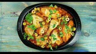 Тушеная курица по-испански - Рецепты от Со Вкусом