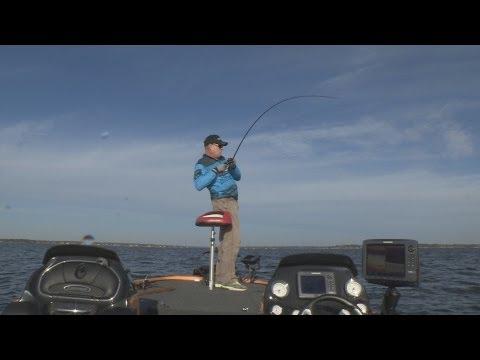 Cedar Creek TX White Bass/Hybrids Southwest Outdoors Report  #37 - 2012 Season