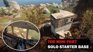 The Mini Fort | Solo Starter Base with a Shooting Floor | Building 3.2