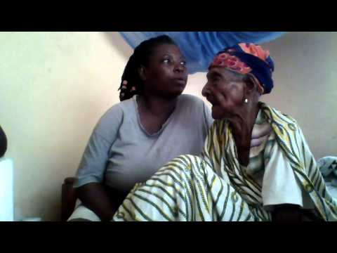 Over 130year old woman in Ghana narrating the history of  Asante kingdom