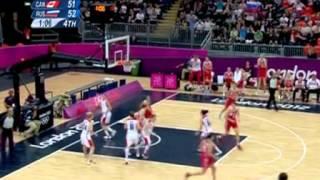 Старт российских баскетболисток в Лондоне