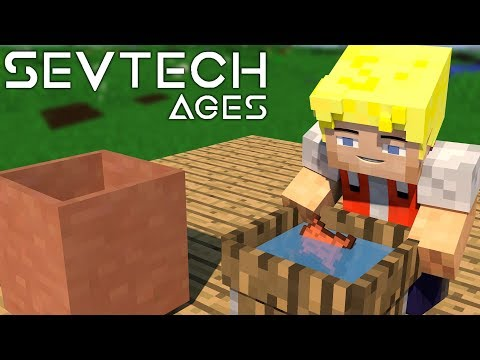 Bessere Leder Herstellung! Barrel & Channel - #12 SevTech Ages (Stage One) - German