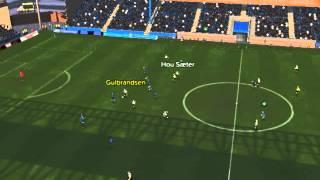 Stabaek mot Rosenborg   Gulbrandsen scorer 83 minutter