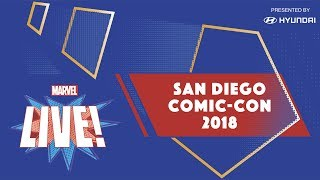 marvel live at san diego comic con 2018   day 1