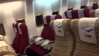 por dentro do boeing 767 300 da tam voo confins miami em 08 12 2012