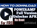 Download PowerAmp Full Version Unlocker for Free- No Root - APK - Best Android Music Player