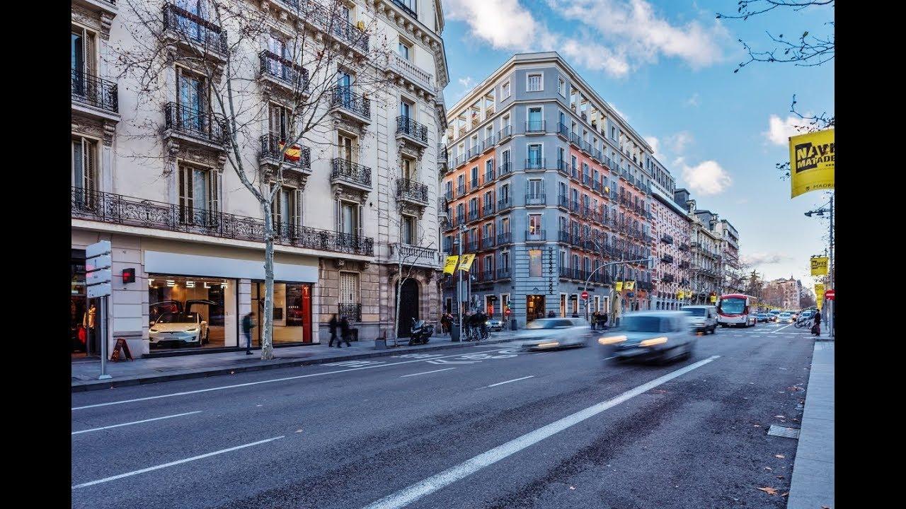 Video dron gran piso calle serrano en exclusivo barrio - Calle serrano 55 madrid ...