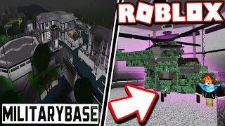 $2M BLOXBURG MILITARY AIRBASE!!! (NEW HELICOPTER) | Subscriber Tours! (Roblox Bloxburg)