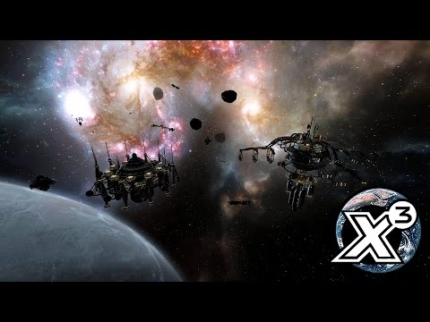 X3 Terran Conflict: The building of our first station complex! |