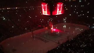 Vegas Golden Knights Opening Ceremonies of Game 1 of the Stanley Cup Playoffs