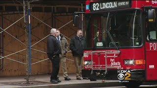 Police Investigate Shooting On Port Authority Bus