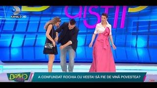 Bravo, ai stil! (06.04.2017) - Cristina a purtat o vesta pe post de rochie! Ce au spus jur ...