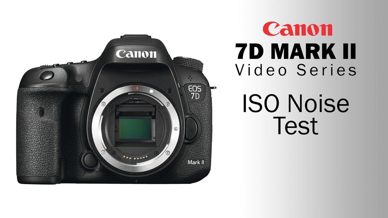 canon 7d iso noise test
