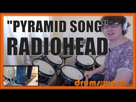 ★ Pyramid Song (Radiohead) ★ Drum Lesson PREVIEW   How to Play Song (Phil Selway)