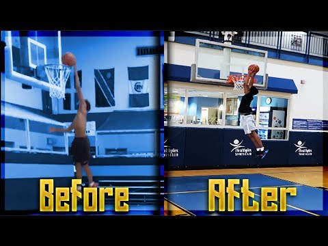 HOW TO DUNK / HOW TO JUMP HIGHER ! (IN WEEKS)