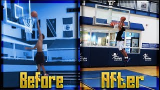HOW TO DUNK / HOW TO JUMP HIGHER ! (IN WEEKS) 2019 Tutorial - DDTV
