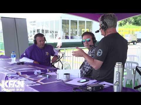 Allen's Page - Vikings OC John DeFilippo joins Paul Allen at Training Camp | KFAN 100.3 FM