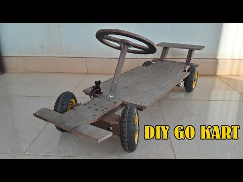 Buil a Electric Go Kart at Home - Electric Car - Tutorial