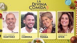 La Divina Comida - Conejo Martinez, Andrea Tessa, Iván Cabrera y Francisca Sfeir